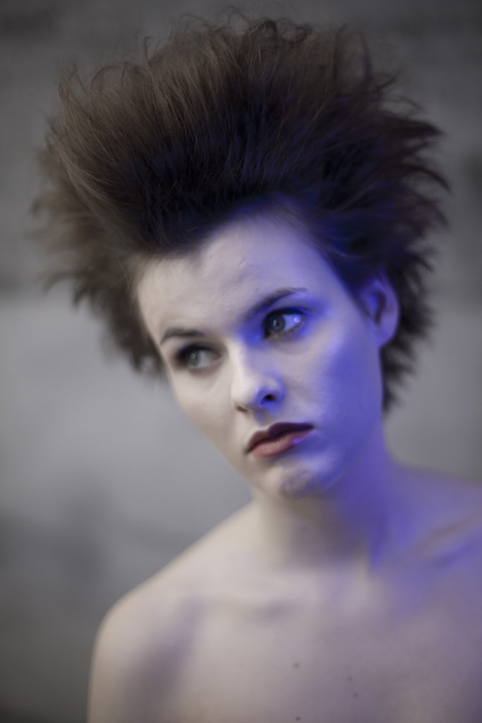 80´s Punk Wave Hairstyle